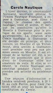 Base de la constitution du CN 1955